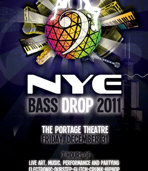 NYE Bass Drop 2011
