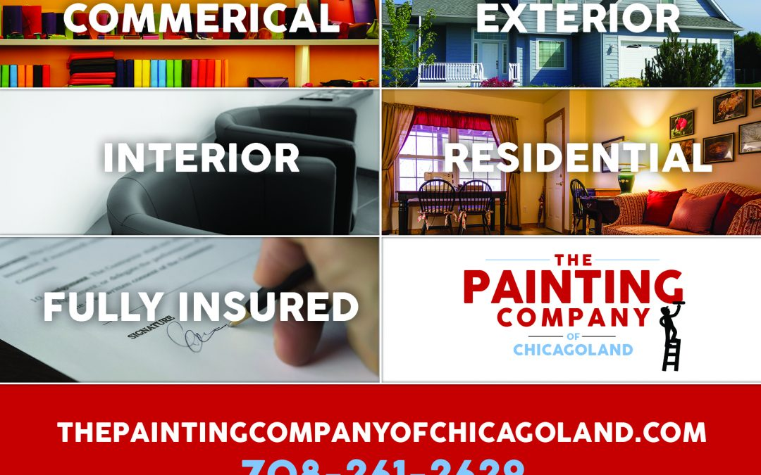 Painting Company of Chicagoland: Postcard Design