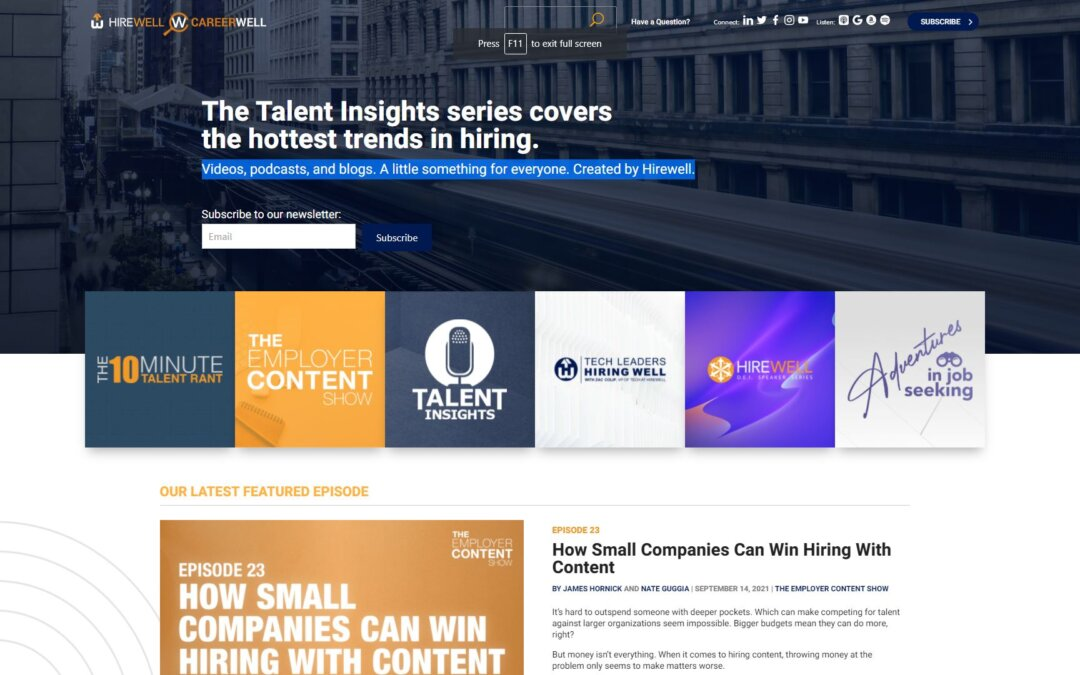 Talent Insights by Hirewell